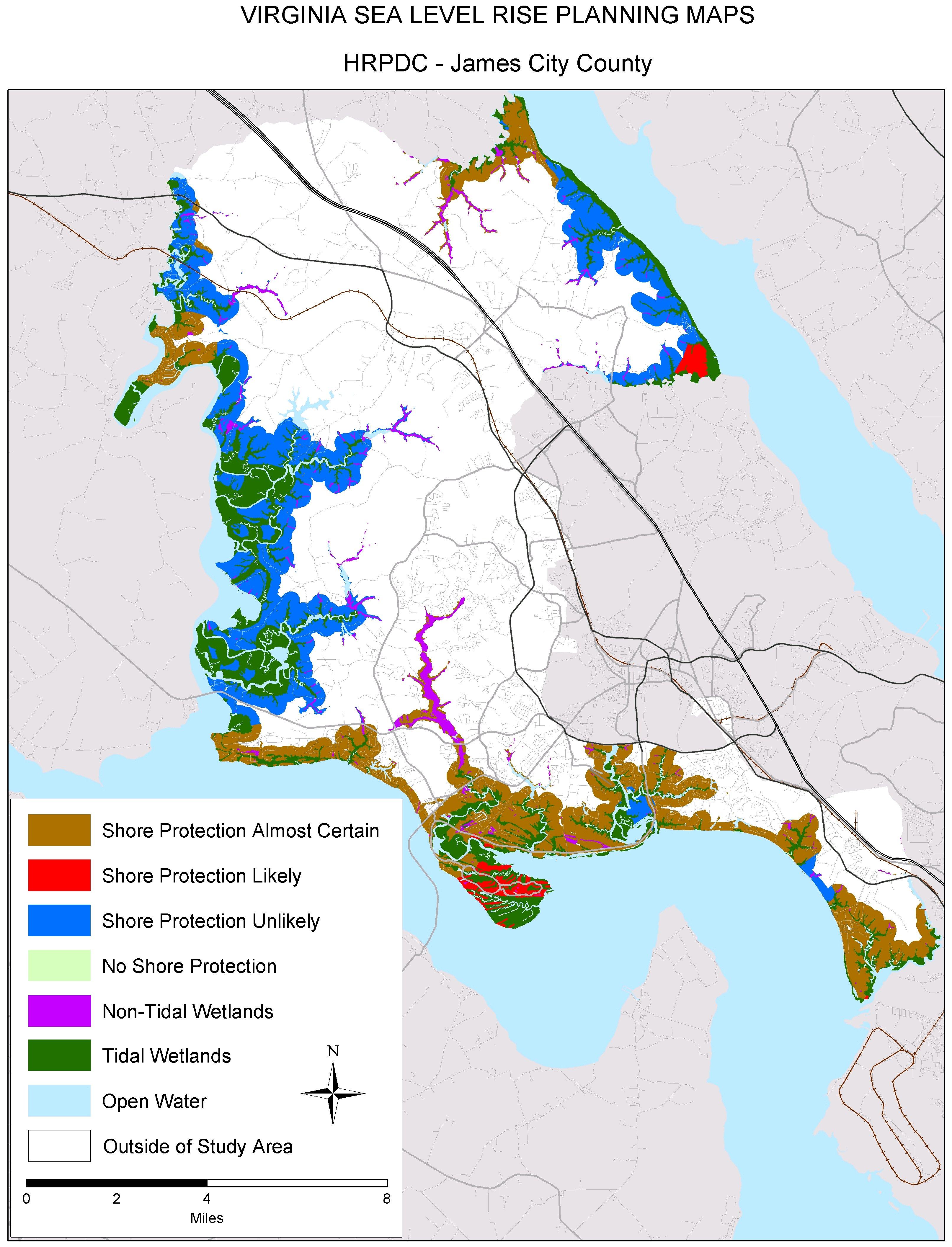 Sea Level Rise Planning Maps | Virginia Institute of Marine