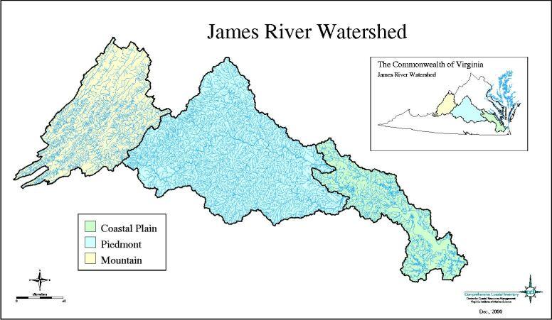 James River Map Portfoliio